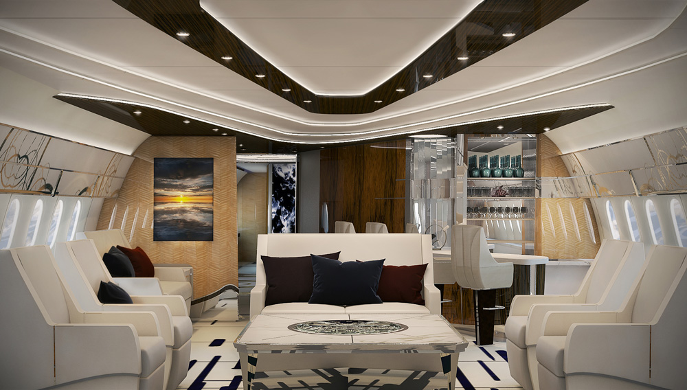Greenpoint design Boeing 787 VIP interior | | Aircraft ...