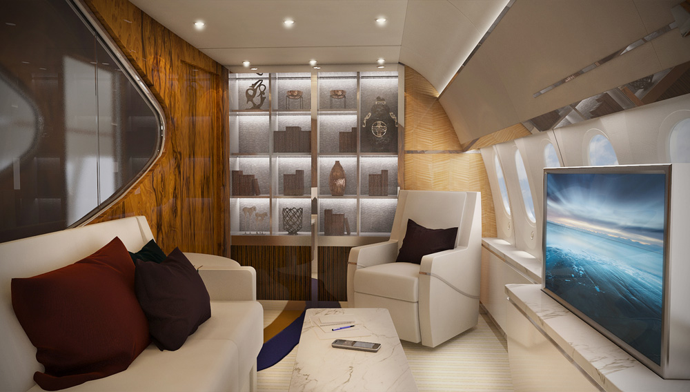 greenpoint design boeing 787 vip interior aircraft completion news. Black Bedroom Furniture Sets. Home Design Ideas