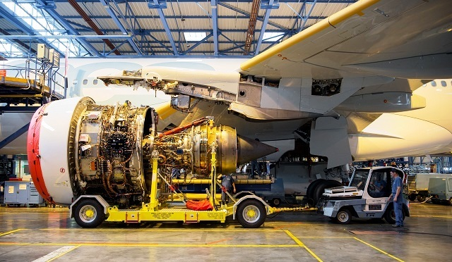 Rolls Royca Trent 7000 engine