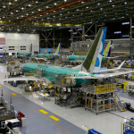 boeing 737 max in production