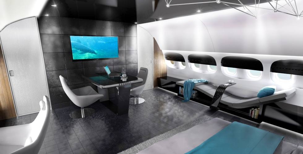 The Boeing 787 Dreamliner Private Jet Aircraft