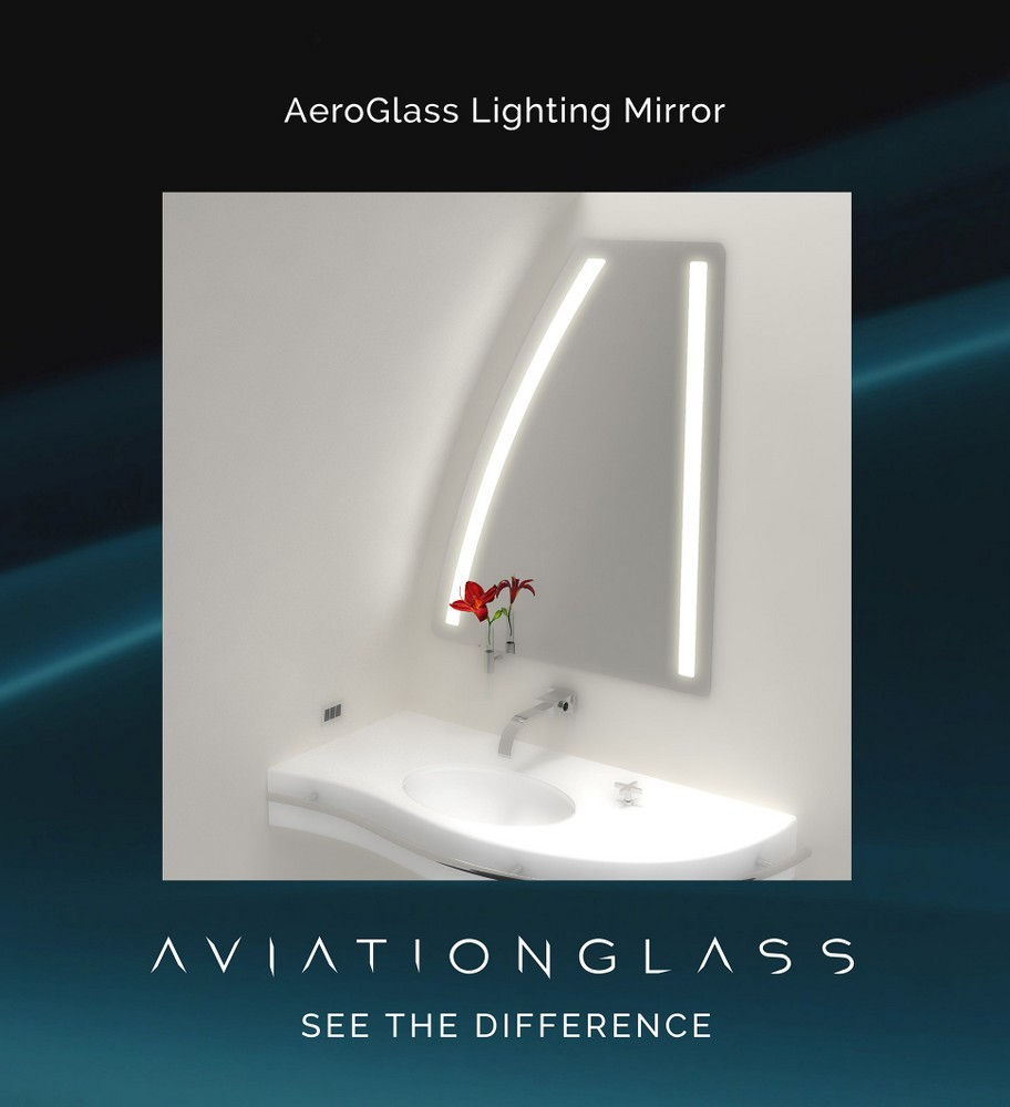 AeroGlass Lighting Mirror