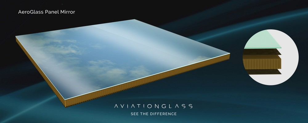 AeroGlass Panel Mirror