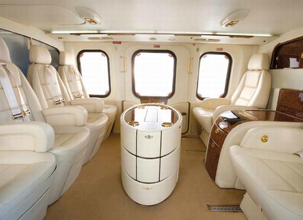 Agustawestland AW139 VIP Interior