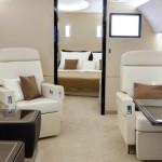 Airbus ACJ install UV resistant glass