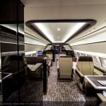 Airbus ACJ319 Main lounge aft