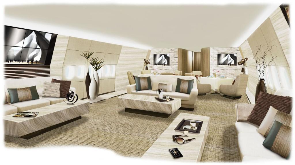 Pierrejean Design - Boeing 747-800 VIP