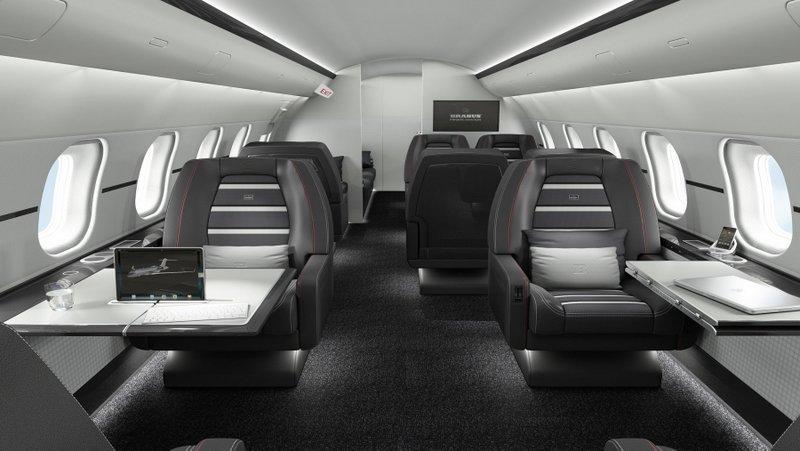 BRABUS Private Aviation Interior Sportive