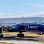 Boeing 777x taxiing