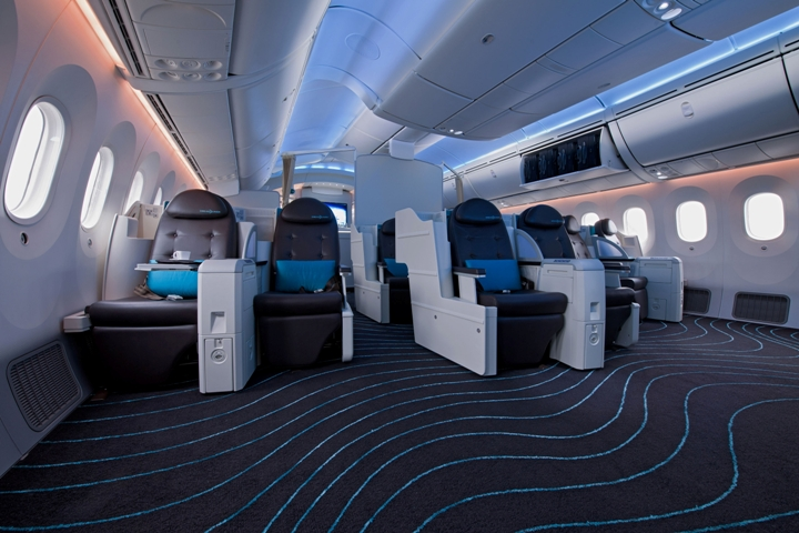 Boeing 787 fuselage design and specification aircraft for Interior 787 dreamliner