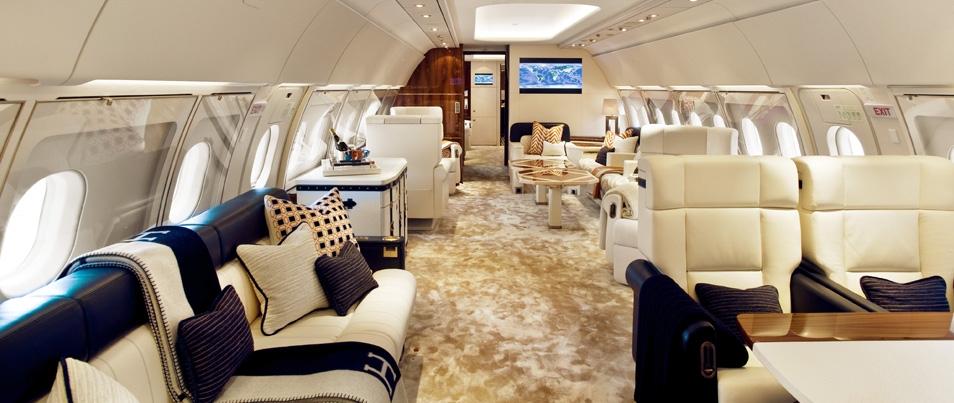Elite A 318 Interior. Boeing Business Jet ...