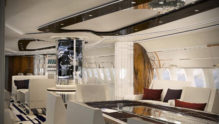 GreenPoint Technologies VIP 787 Azure Interior