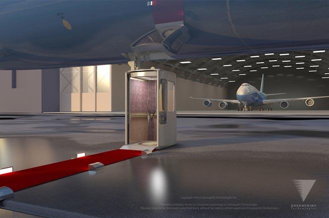 Greenpoint Technologies VVIP 747-8 Aerolift