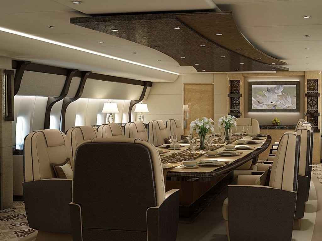 Greenpoint Technologies VVIP 747-8 Dining Room