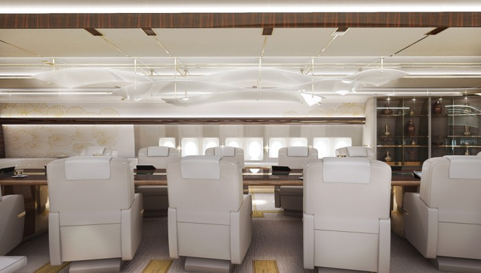 Greenpoint Technologies VVIP 747-8 Dining Room 2