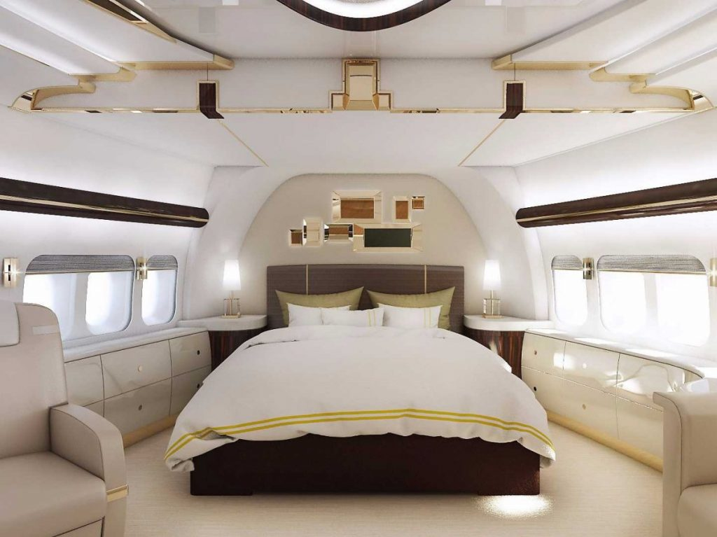 Greenpoint Technologies VVIP 747-8 Stateroom