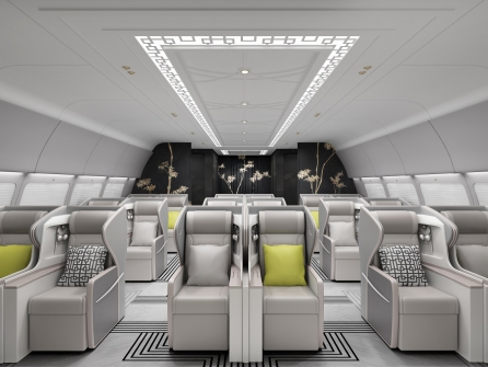Haeco East Meets West VIP Interior First Class