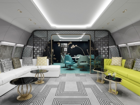 Haeco East Meets West VIP Interior Lounge