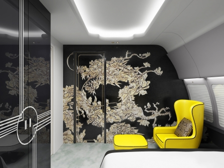 Haeco East Meets West VIP Interior Private Room
