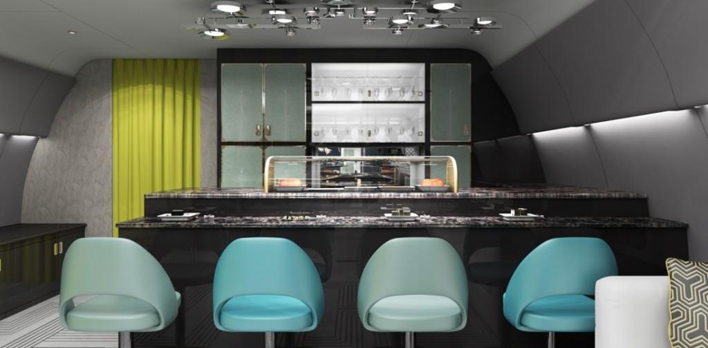 Haeco East Meets West VIP Interior Sushi Bar