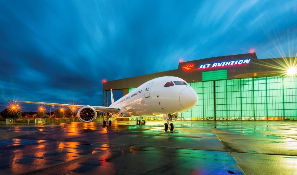 Jet Aviation Basel Switzerland