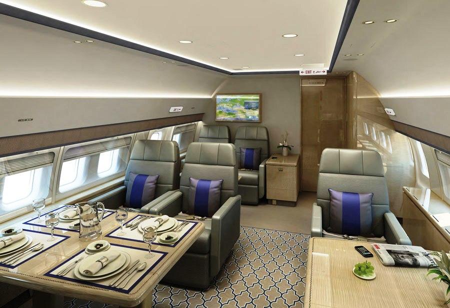 BBJ3 Interior Completion