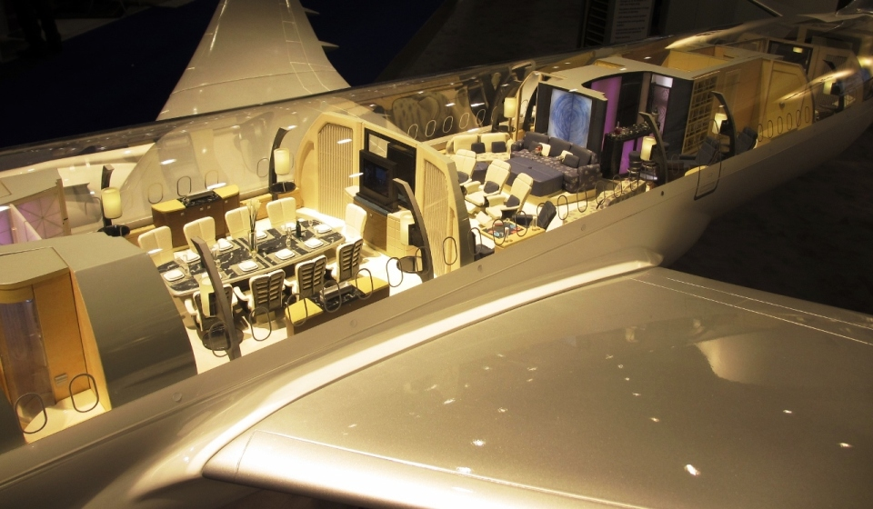 Lufthansa display 787 concept at EBACE 2013 | | Aircraft Completion News