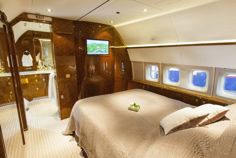 Privajet Refurbished BBJ Loaded With VIP Amenities   Aircraft Completion News