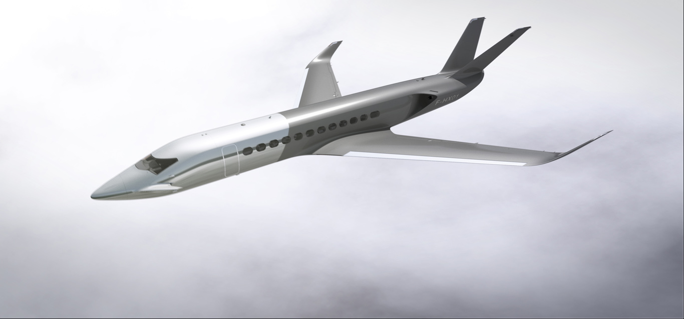 The New HX1 Business Jet Concept By Peugeot Design Labs   Aircraft Completi