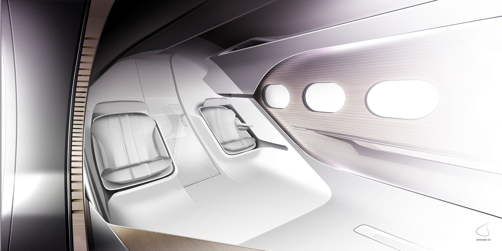 The New HX1 Business Jet Concept By Peugeot Design Labs