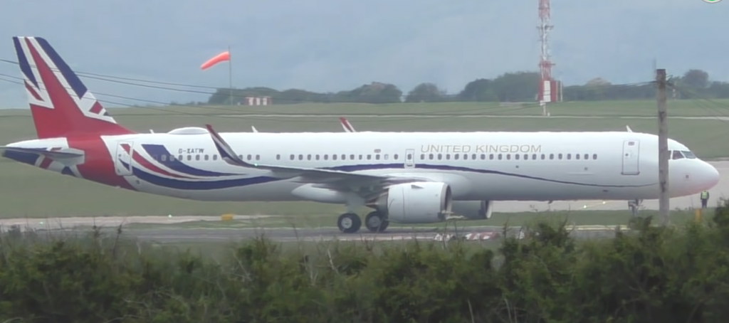 UK Government Airbus A321