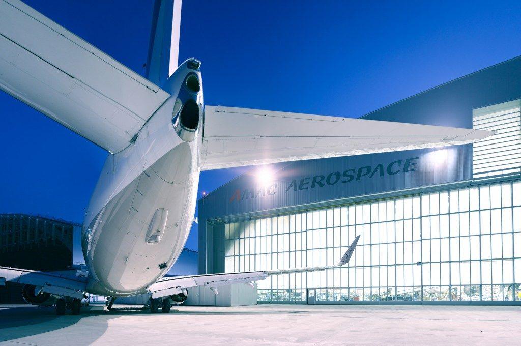 Wide body hangar AMAC Aerospace