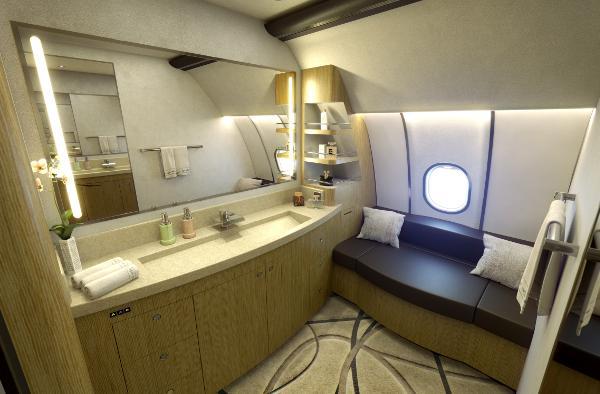 Airbus A330 Summit Vip Corporate Design Bathroom