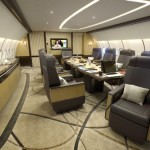 Airbus A330 Summit VIP Corporate design - board room