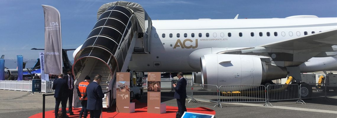 Airbus (but no Boeing) at EBACE