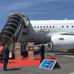 ebace 2019 airbus acj on display