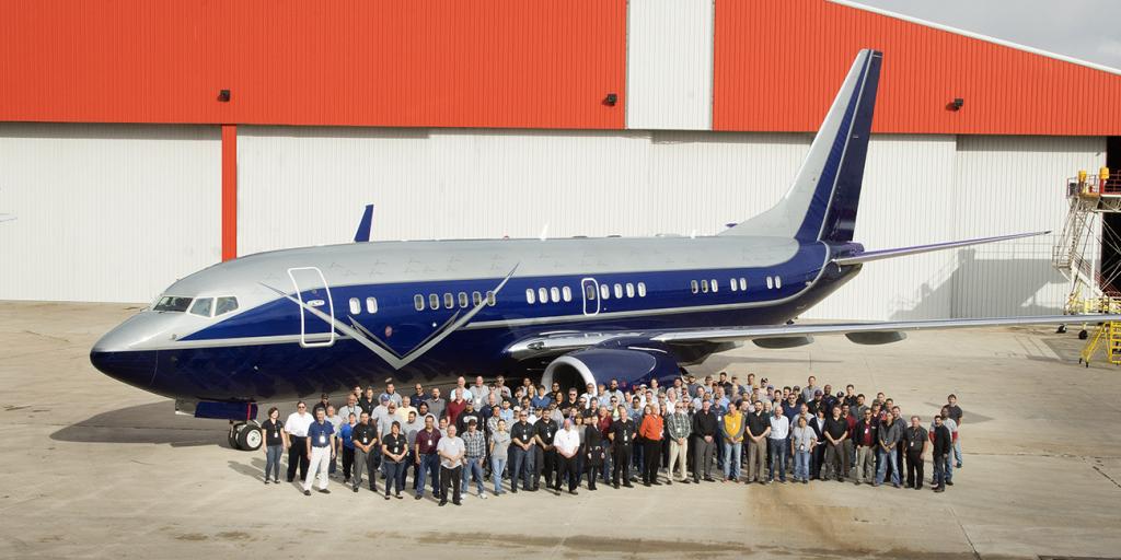 AERIA Boeing Business Jet