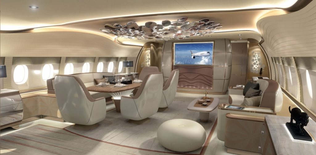 Airbus displays A350 VIP jet interior at EBACE | | Aircraft Completion News