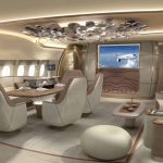 Airbus ACJ350 interior design concept from Jet Aviation
