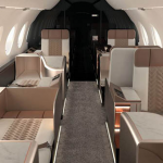 supernova concept business jet interior