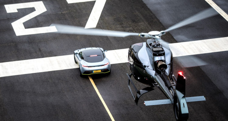 aston martin airbus ach180 helicopter