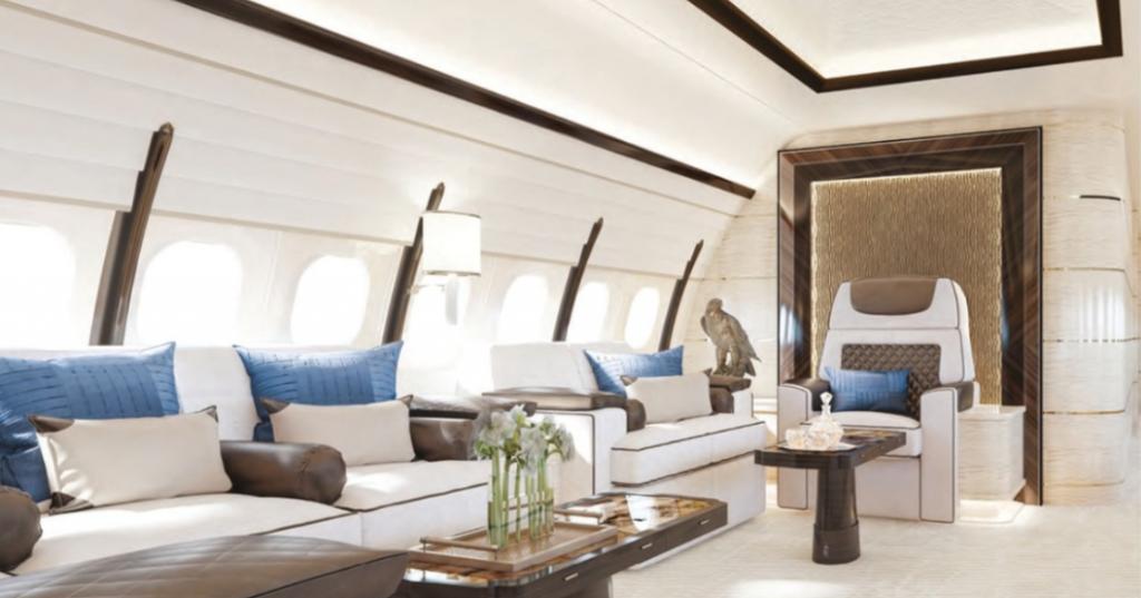 bbj max interior by winch designs