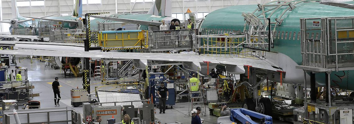 Boeing plans May restart to 737 Max production