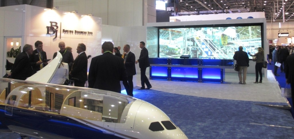 Boeing Business Jet - EBACE 2014