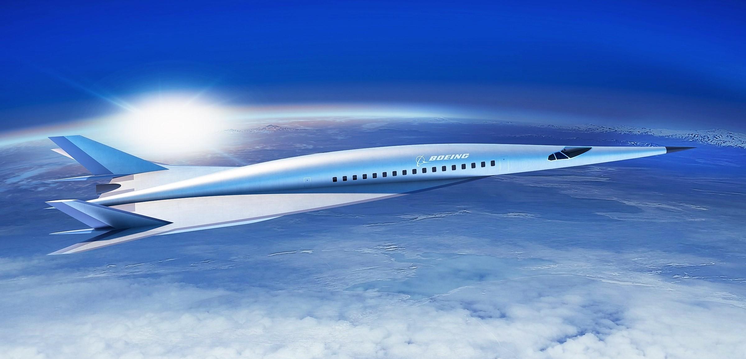 Boeing unviels its sleek hypersonic jet