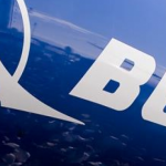 boeing logo on side of aircraft