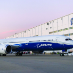 boeing 787 dreamliner outside the south carolina production facility