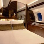 bombardier business jet interior
