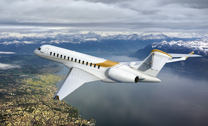 bombardier global 7000 jet
