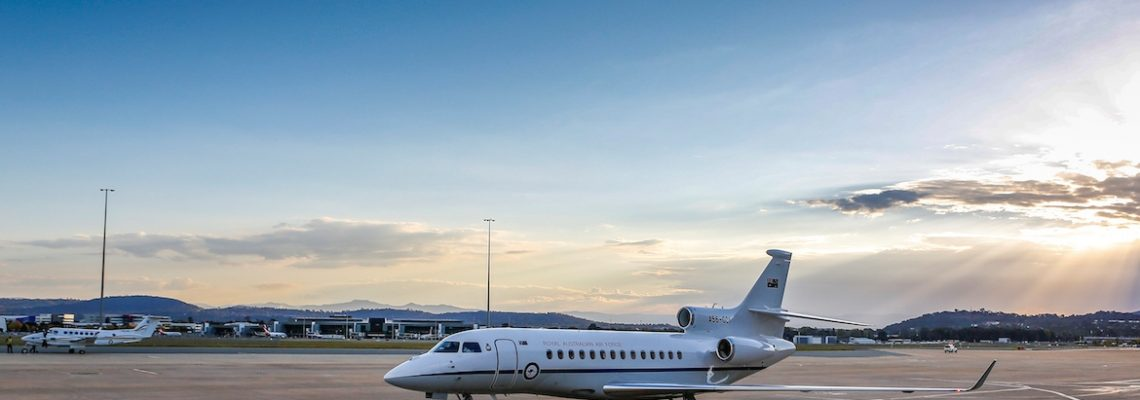 The first Dassault 7x for RAAF completed and delivered